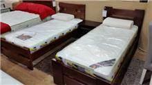מיטת יחיד מעץ - בית אלי - אולם תצוגה לרהיטים