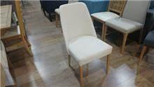 כסא אוכל לבן מעוצב - בית אלי - אולם תצוגה לרהיטים