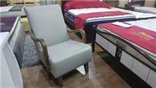 כורסא אפורה בהירה - בית אלי - אולם תצוגה לרהיטים