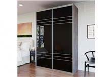 ארון הזזה 2 דלתות HG3141 - בית אלי - אולם תצוגה לרהיטים