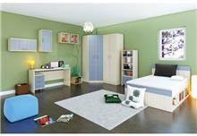חדר ילדים מעוצב לב