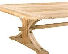 שולחן אוכל גדול מעצי ספינות