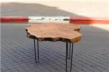 שולחן עץ טיק