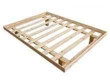 מיטה זוגית מעץ שנהב