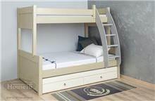 מיטת קומותיים וחצי לילדים - HouseIn