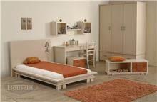 מיטה מעוצבת יפני לבן