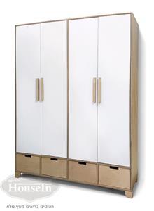 ארון 4 דלתות אופיר - HouseIn