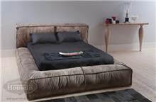 מיטת פוף זוגית מעוצבת - HouseIn