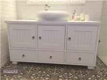 ארון אמבטיה מעוצב וכיור