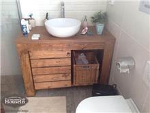 ארון אמבטיה כפרי - HouseIn