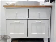 שידת אמבטיה לבנה - HouseIn