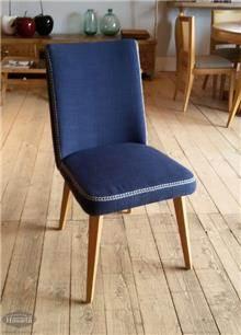 כסא מעוצב כחול - HouseIn
