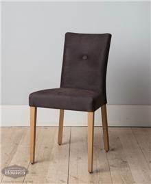 כסא כפתור מרופד