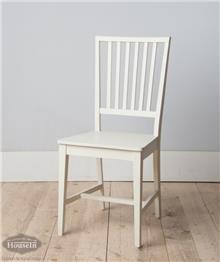 כסא לבן לחדר אוכל
