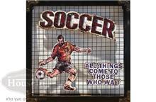 תמונת מתכת כדורגל
