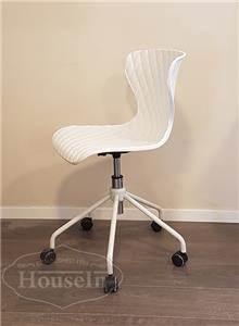 כסא תלמיד דגם ג'וי לבן