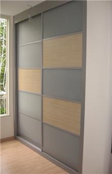 ארון הזזה מלבנים - Doors