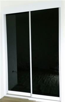 ארון הזזה זכוכית - Doors