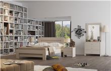 חדר שינה זוגי קומפלט סנדי - Best Bait Design