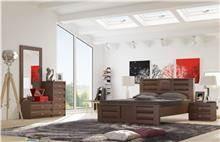 חדר שינה קומפלט אורנית - Best Bait Design