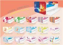 מיטת ילדים עם ארגז מצעים Kwadra - Best Bait Design