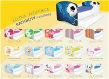 מיטת ילדים עם ארגז מצעים Rainbow - Best Bait Design