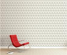 טפט גאומטרי לקיר - מעודד צבעים