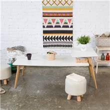 שולחן קפה מלבני 6818