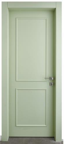 דלת אפוקסי ירקרקה - La Casa