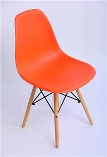 כסא עמוס כתום