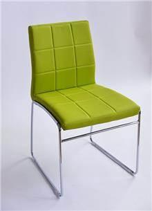 כסא מרופד אריק ירוק