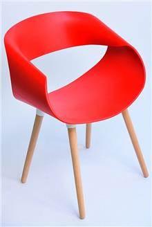 כסא דגם כרמל אדום