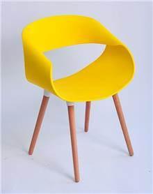 כסא דגם כרמל צהוב