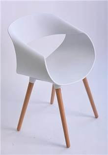 כסא דגם כרמל לבן