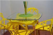 שולחן דגם ירין - צהוב