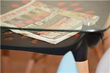 שולחן דגם ירין - שחור
