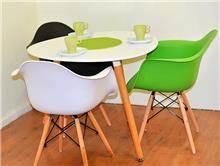 שולחן דגם שגיא + 3 כסאות דגם נועם