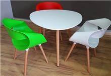 שולחן שגיא + 3 כסאות כרמל