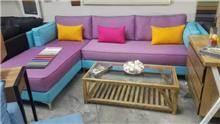 ספה פינתית צבעונית