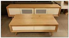 סט מזנון ושולחן סלון - רהיטי אלון