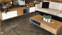 סט מזנון ושולחן סלון מודרני