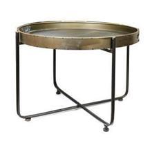 שולחן סלון מגש עגול