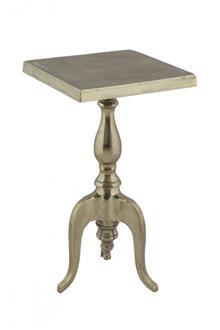שולחן צד ברונזה מרובע