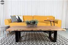 שולחן סלון עץ אמסטרדם 120