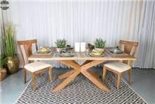 שולחן פינת אוכל עץ ספיידר