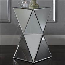 שולחן צד מראה יהלום - Besto
