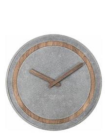 שעון קיר עגול בטון