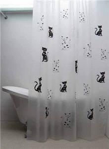 וילון אמבטיה חתולים - טאגור סנטר