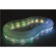 בריכה מתנפחת 280X157X46 כולל תאורת לד צבעונית Bestway