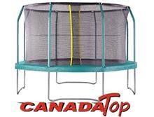 טרמפולינה 10 פיט 3.00 מ´ רשת הגנה פנימית, CANADA-TOP